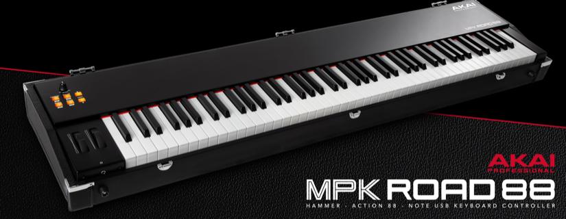 Akai MPK Road 88 миди-клавиатура