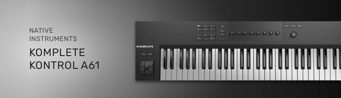 MIDI-клавиатура Native Instruments KOMPLETE KONTROL A61 - Muzikant.ua
