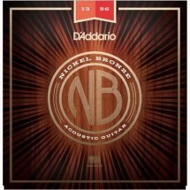 D'Addario NB1356 Nickel Bronze Medium 13-56