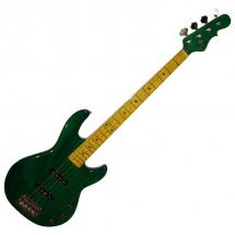 G&L JB2 FOUR STRINGS (Clear Forest Green. maple)
