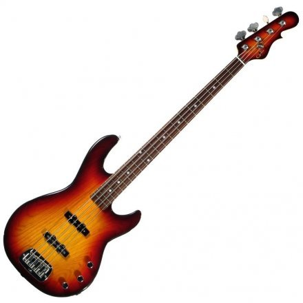 Бас-гитара G&L JB-2 FOUR STRINGS (3-Tone Sunburst. Rosewood)