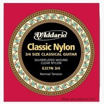 D'Addario EJ27N 3/4 Nylon Student Classiсs (Normal Tension)