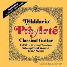D'Addario EJ45C Pro-Arte Composites Normal Tension