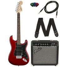 Fender STRAT PACK CANDY APPLE RED