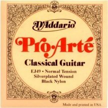 D'Addario EJ49 Black Nylon Pro-Arte Normal (28-43)