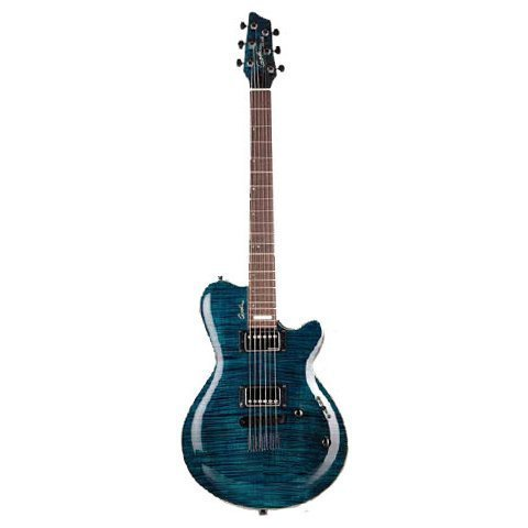 Электрогитара Godin LG Signature Trans Blue Flame AA W/Bag