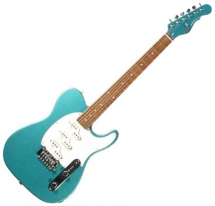 Электрогитара G&L ASAT Z3 (Emerald Blue). №CLF51011. Made In USA