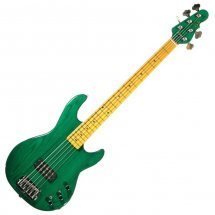 G&L L1505 FIVE STRINGS (Clear Forest Green)