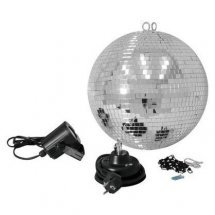 Зеркальные шары Eurolite Mirror Ball Set 30cm with LED Spot (50101861)