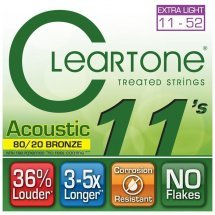 Cleartone 7611 Acoustic Bronze 80/20 Ultra Light 11-52