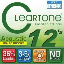 Cleartone 7612 Acoustic Bronze 80/20 Light 12-53