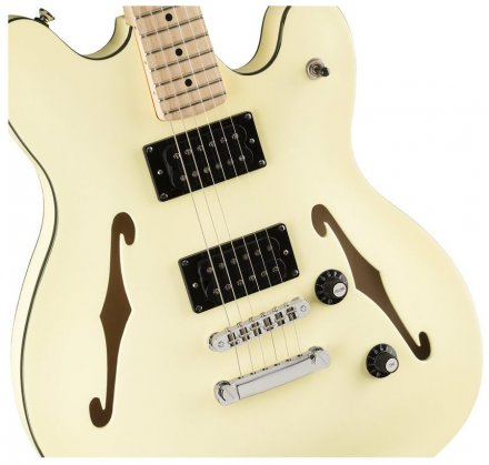 Полуакустическая электрогитара Squier by Fender AFFINITY SERIES STARCASTER MAPLE FINGERBOARD OLYMPIC WHITE