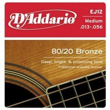 D'Addario EJ12 80/20 Bronze Medium (13-56)