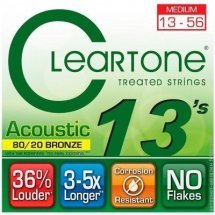 Cleartone 7613 Acoustic Bronze 80/20 Medium 13-56