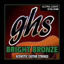 GHS Strings BRIGHT BRONZE SET BB10U
