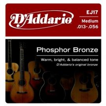 D'Addario EJ17 Phosphor Bronze Medium (13-56)