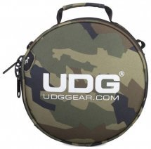 Аксессуары для наушников UDG Ultimate DIGI Headphone Bag Black Camo, Orange/inside(U9950BC/OR)