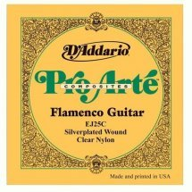 D'Addario EJ25C Pro-Arte Composite Flamenco Clear Nylon (Custom Tension)
