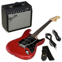 Squier By Fender Strat Pack Hss Candy Apple Red