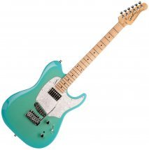 Godin Session Custom 59 Limited Coral Blue HG MN with Bag